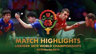 【동영상】IONESCU Ovidiu・ROBLES Alvaro VS 마롱・WANG Chuqin 2019 세계 탁구 선수권 대회 결승