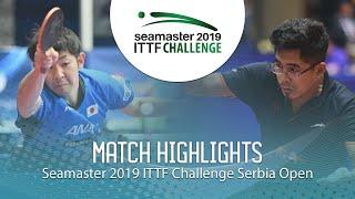 【동영상】마치 아스카 VS BORO Birdie 2019 ITTF 도전 세르비아 오픈