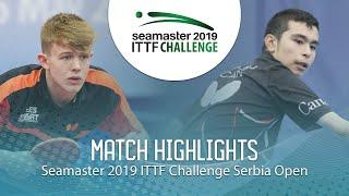 【동영상】JARVIS Tom VS HAZIN Jeremy 2019 ITTF 도전 세르비아 오픈 베스트16