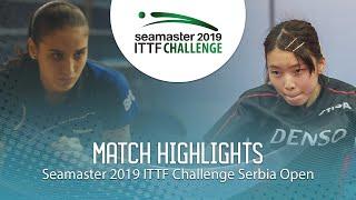 【동영상】아이리 아베 VS YOVKOVA Maria 2019 ITTF 도전 세르비아 오픈 베스트64