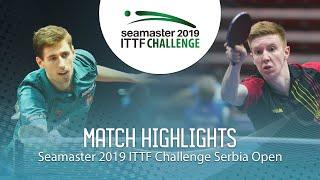 【동영상】LAMBIET Florent VS SZUDI Adam 2019 ITTF 도전 세르비아 오픈 베스트32
