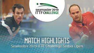 【동영상】스테판 페걸 VS 폴 드린크홀 2019 ITTF 도전 세르비아 오픈 베스트16