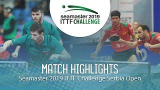 【동영상】ECSEKI Nandor・SZUDI Adam VS CARVALHO Diogo・GERALDO Joao 2019 ITTF 도전 세르비아 오픈 준결승