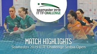 【동영상】NG Wing Nam・SOO Wai Yam Minnie VS MADARASZ Dora・PERGEL Szandra 2019 ITTF 도전 세르비아 오픈 결승