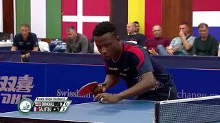 【동영상】폴 드린크홀 VS SALIFOU Abdel-Kader 2019 ITTF 도전 세르비아 오픈 결승