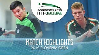【동영상】YANG Heng-Wei VS KOVACS Sebestyen 2019 ITTF 도전 슬로베니아 열기