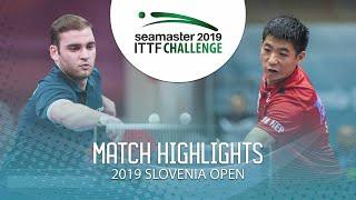 【동영상】SGOUROPOULOS Ioannis VS WEI Shihao 2019 ITTF 도전 슬로베니아 열기