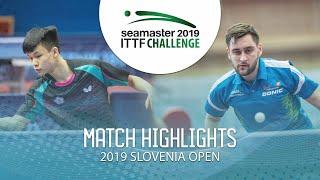 【동영상】FENG Yi-Hsin VS POSCH Lars 2019 ITTF 도전 슬로베니아 열기