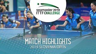 【동영상】DIAZ Adriana・DIAZ Melanie VS LIU Qi・MAK Tze Wing 2019 ITTF 도전 슬로베니아 열기