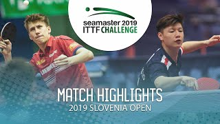 【동영상】LEVENKO Andreas VS TIO Nicholas 2019 ITTF 도전 슬로베니아 열기 베스트32