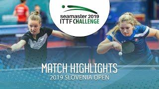 【동영상】MIGOT Marie VS KUKULKOVA Tatiana 2019 ITTF 도전 슬로베니아 열기 베스트64