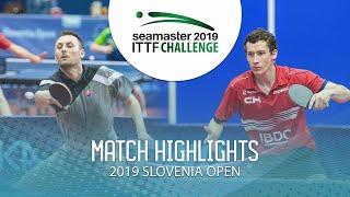 【동영상】PISTEJ Lubomir VS GLOD Eric 2019 ITTF 도전 슬로베니아 열기 베스트64