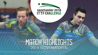 【동영상】DEVOS Robin VS OUAICHE Stephane 2019 ITTF 도전 슬로베니아 열기 베스트64