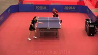 【동영상】 후지이 유코 VS ZHENG Jiaqi 2014 년 US 오픈 & # 39; 14 베스트 16