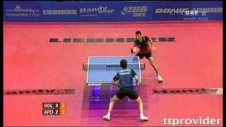 [동영상] 티모 볼 VS 티아고 아폴로니아 LIEBHERR 2010 년 오스트리아 오픈 - ITTF 프로 투어 결승