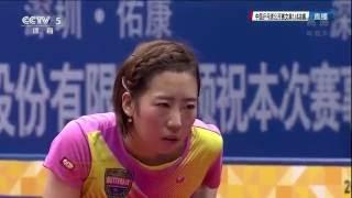 [동영상] 梁夏銀 VS 朱雨 링 2016 년 SheSays 중국 오픈 준준결승