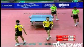 [동영상] 王励勤 · 許昕 VS 馬琳 · 장지 커 2011 년 UAE 오픈 - ITTF 프로 투어 결승