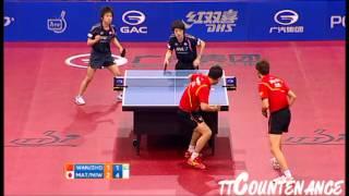 [동영상] 왕 하오 · ZHOU Yu VS 마츠다이라 켄타 · 니와 孝希 GAC GROUP 2012 폴란드 오픈 결승