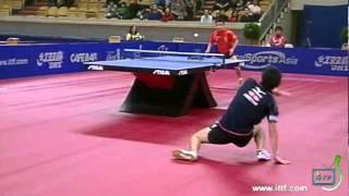 【동영상】 미즈타니 하야부사 VS 왕 하오 2011 년 스웨덴 오픈 - ITTF 프로 투어 강전