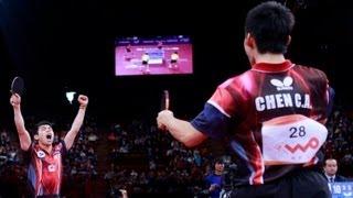 [동영상] 郝帥 · 馬琳 VS 陳建安 · 荘智淵 LIEBHERR 2013 년 세계 탁구 선수권 대회 결승