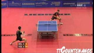 [동영상] 티모 볼 VS 요시다 海偉 LIEBHERR 2010 년 오스트리아 오픈 - ITTF 프로 투어 강전