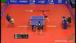 【동영상】 후쿠오카 하루나 VS 와카 미야 三紗子 GAC GROUP 2012 체코 오픈 준결승