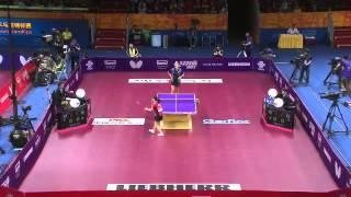 【동영상】 후쿠하라 아이 VS 비렌코 쿠오로스 2015 년 세계 탁구 선수권 대회 베스트 64